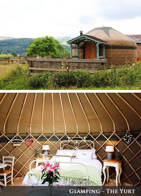 Glamping - The Yurt